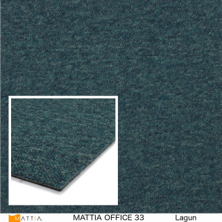 mattia office 33, lagun. textilplatta